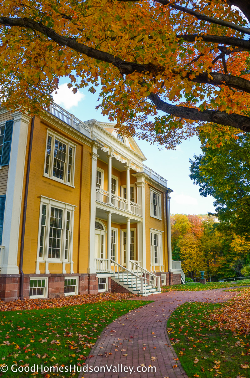 The Boscobel Mansion in Garrison New York