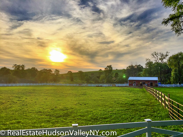 East Fishkill NY Dutchess County sunset
