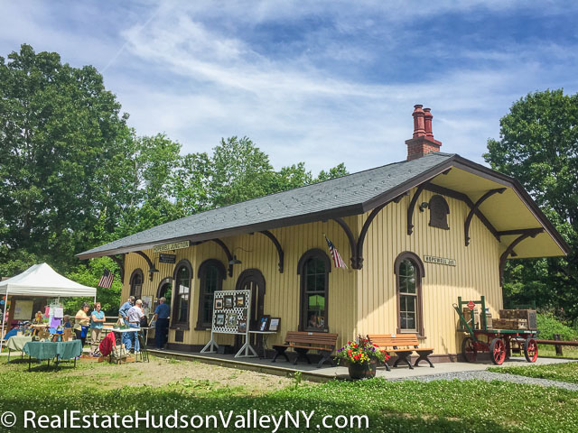 Dutchess Rail Trail Hopewell Junction Train Depot