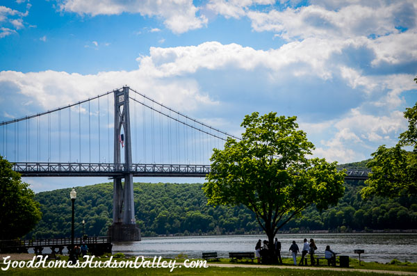 Poughkeepsie New York Mid Hudson Bridge