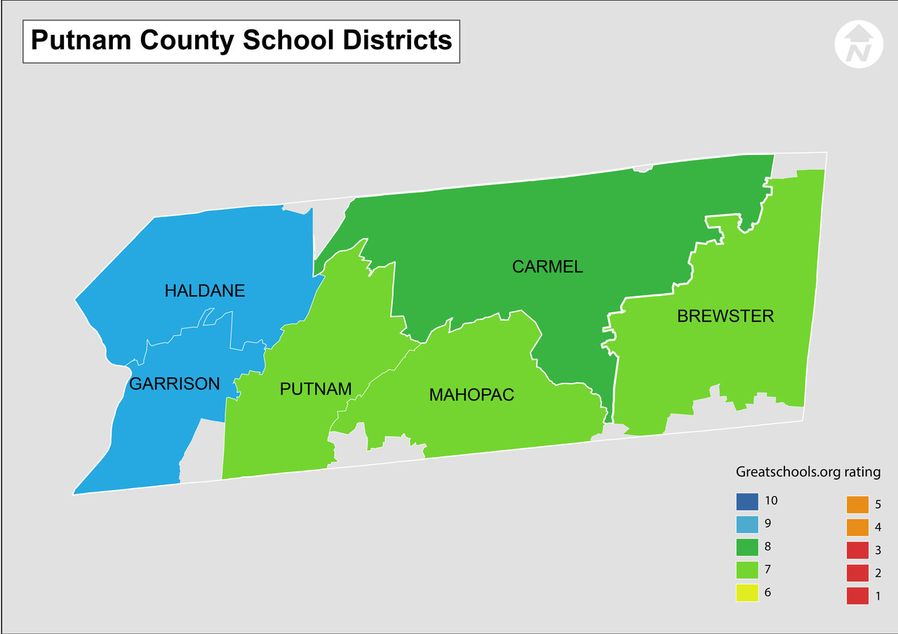 Putnam County School District Map