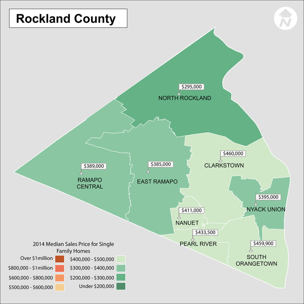 Rockland County School District Map and Real Estate