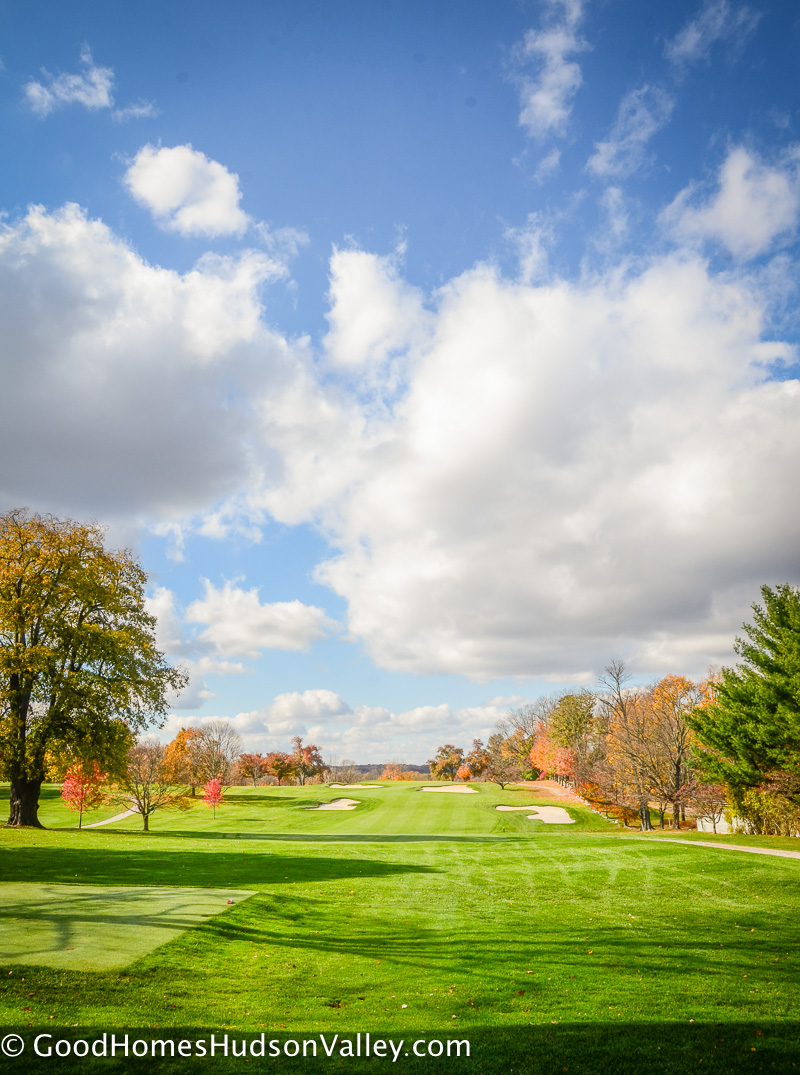 Waccabuc Country Club in the Fall
