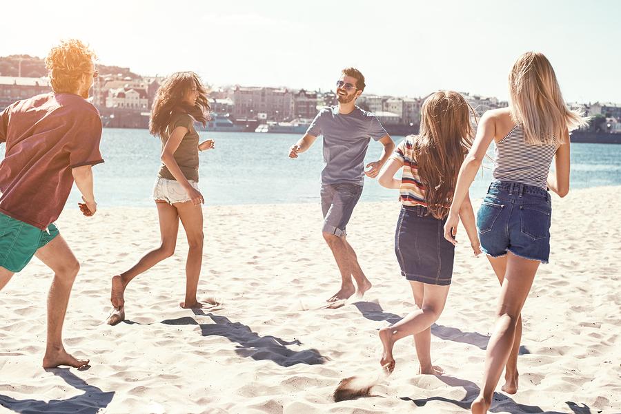 Pacific Beach homes offer a fun beach life.