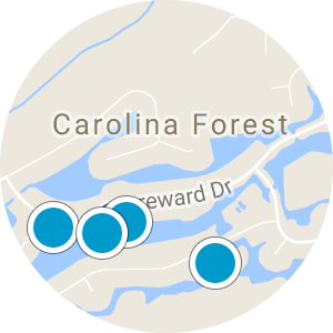 Plantation Lakes Carolina Forest Home Search - Map View