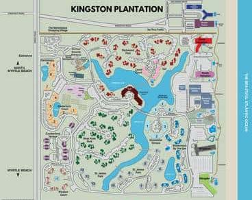 Kingston Plantation Resort Map