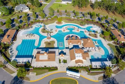 Waterbridge Pool Complex | Waterbridge Resort Amenity Complex |  Carolina Forest