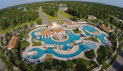 Waterbridge Pool Complex   Waterbridge Resort Amenity Complex    Carolina Forest