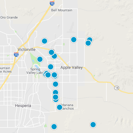 Apple Valley Map Search
