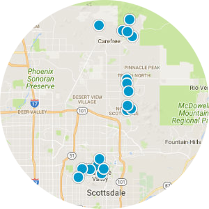 Cave Creek Real Estate Map Search