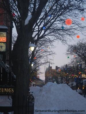 Burlington, VT Winter Lights