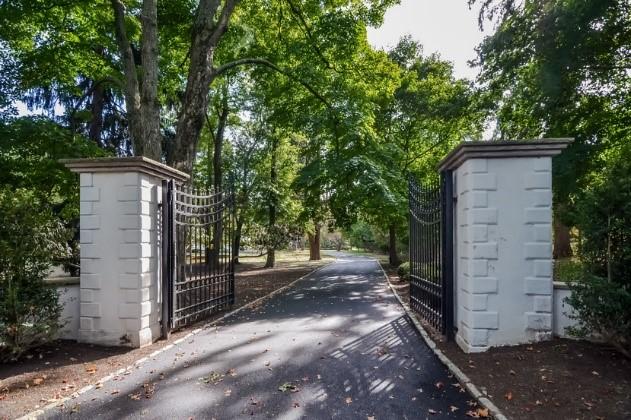 Driveway entrance to home at 80 Glen Avenue West Orange NJ 07052