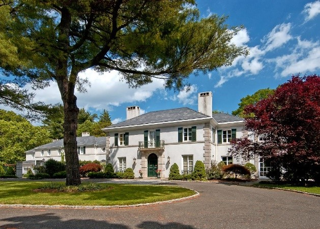 Front of luxury home at 80 Glen Avenue West Orange NJ 07052