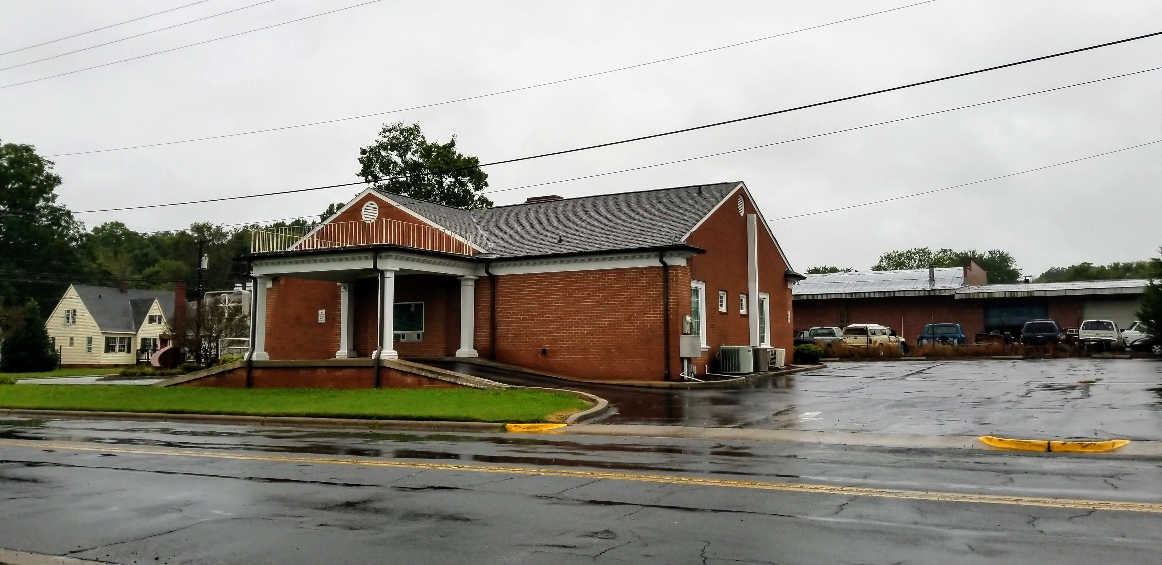 former bank building for sale davidson co nc