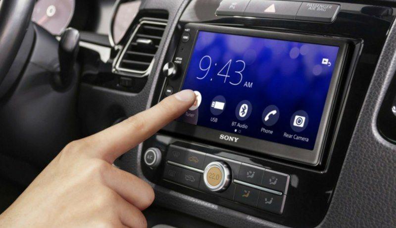 sanitize your car touchscreen