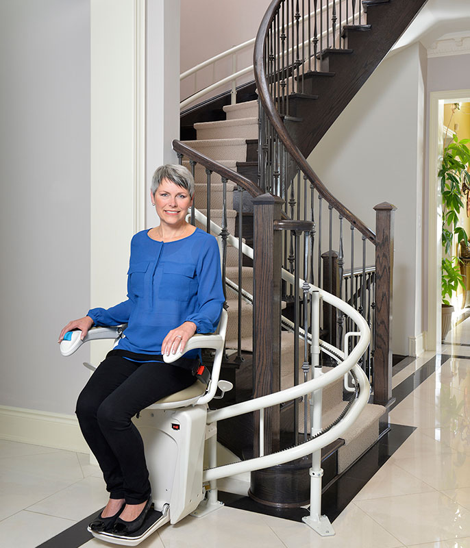 stair lift to age-in-place in Kernersville, NC
