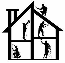 home repairs house logo