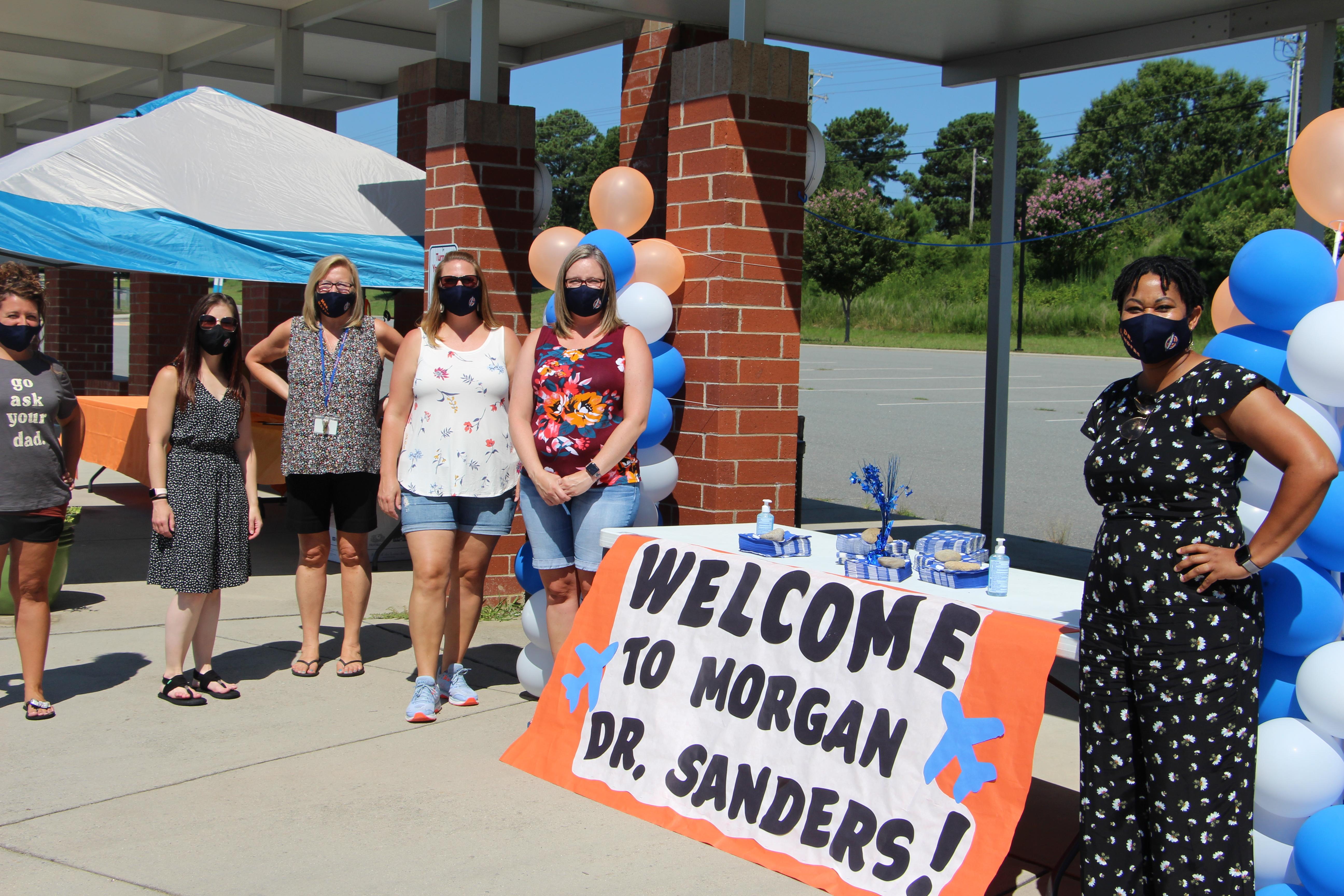 Morgan Elementary School Staff Welcomes New Principal Dr. Stephanie Sanders