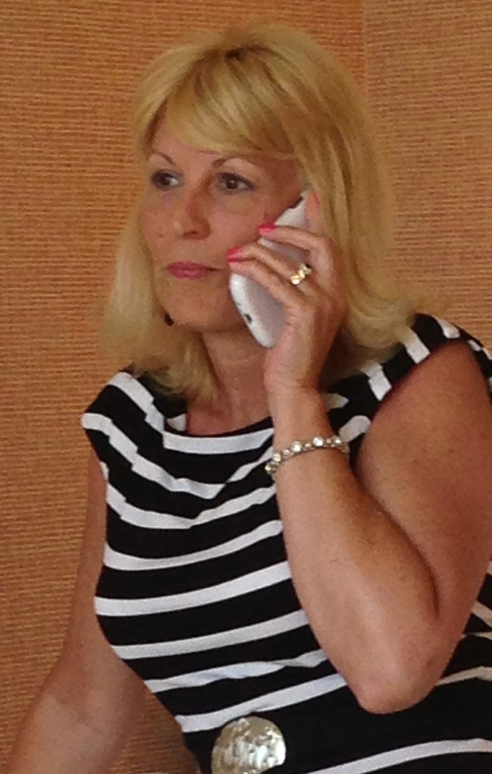 gail hanlon on phone in greenville nc real estate
