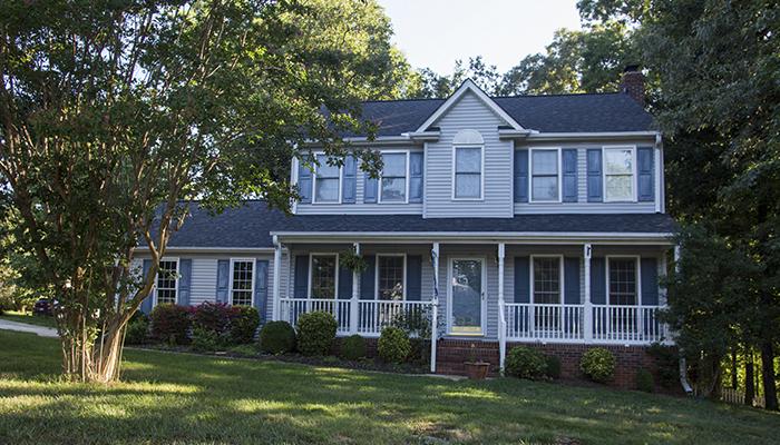 Home in Half Mile Lake Subdivision