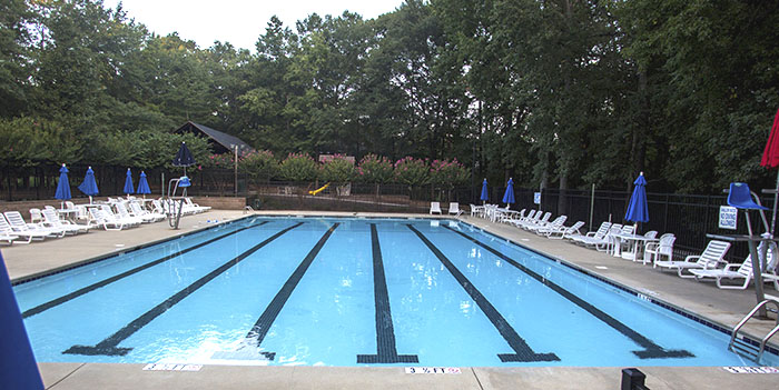 Pool in Roper Mountain Estates