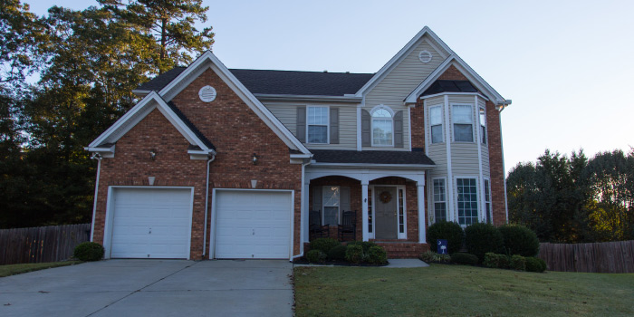 Home in Autumn Trace Simpsonville