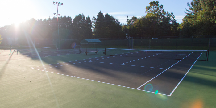 Tennis Courts in River Walk community of Simpsonville