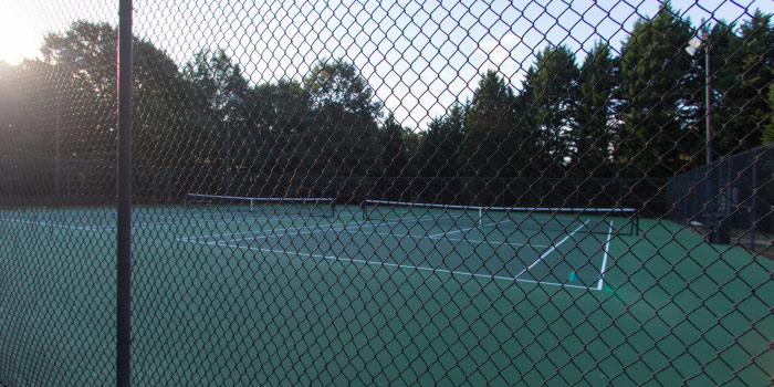 Tennis Courts in Stonehaven