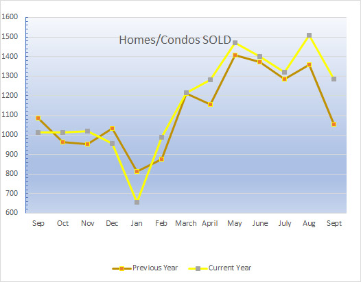 Homes_Sold_in_greenville_sc_Graph_Month_to_month