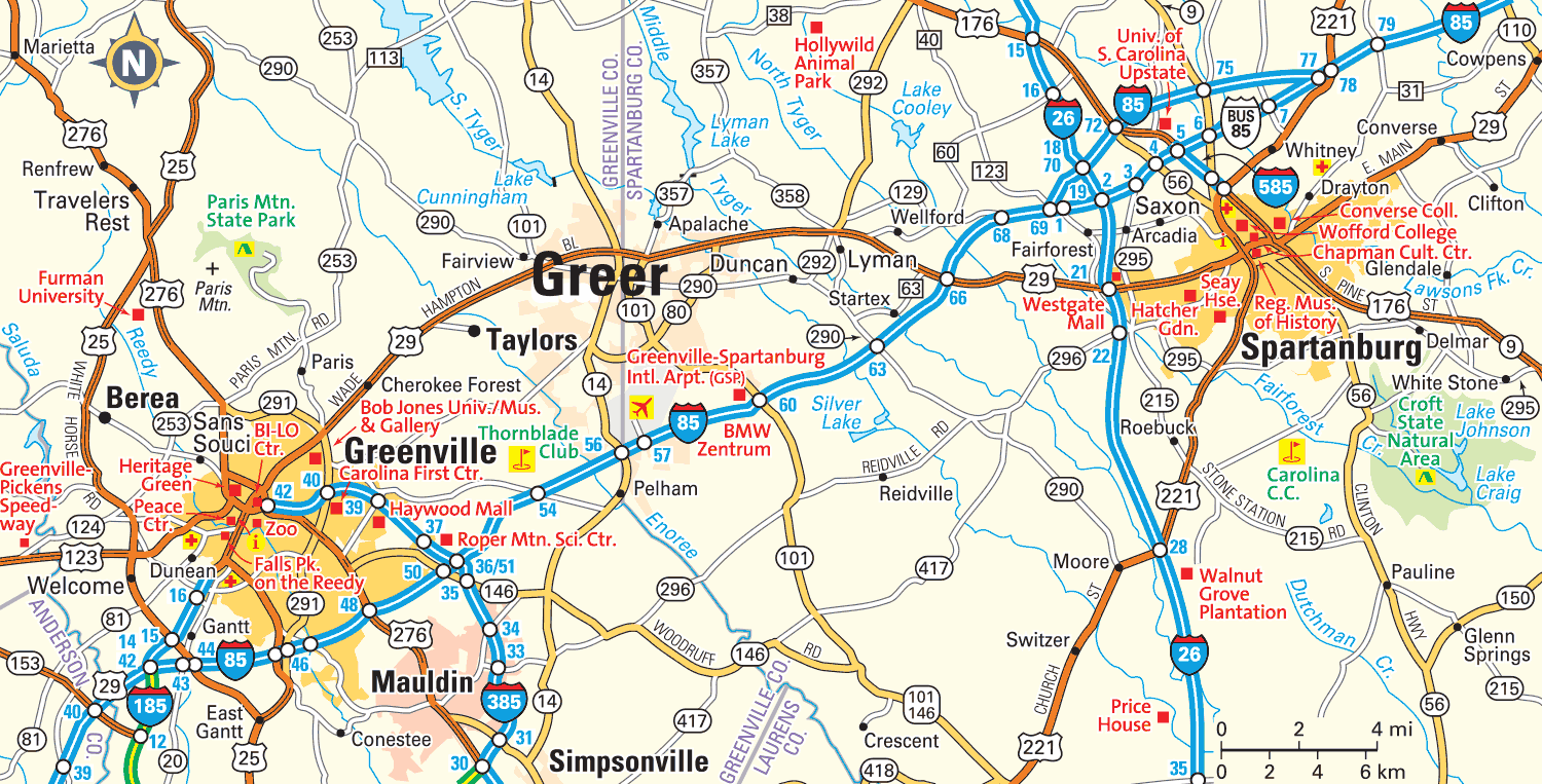 Greer South Carolina Relocation And Area Information