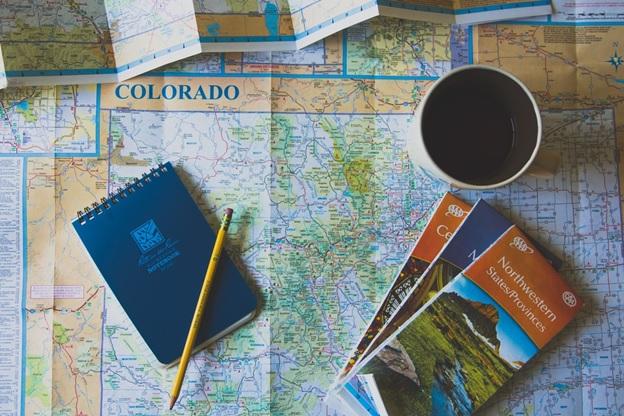 A map of Colorado