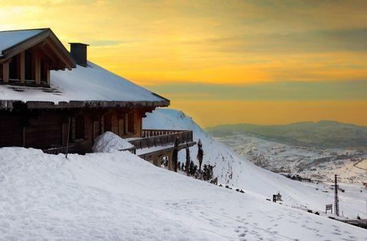 a ski home