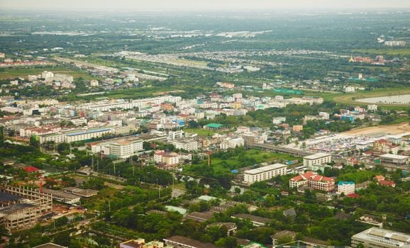 a suburban city