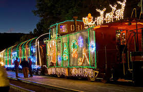 Roaring Camp Holiday Lights Train