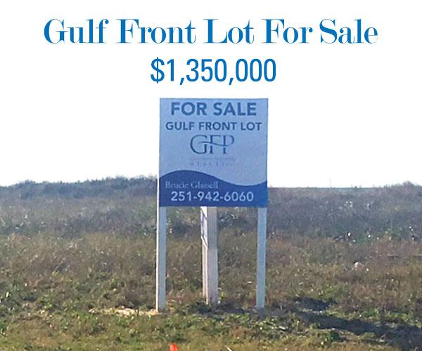 Gulf Front Lot