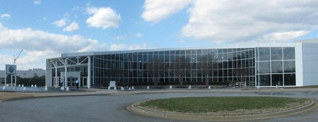 BMW Manufacturing Facility visitors center