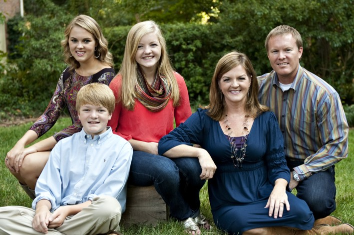 J. J. Bowers Family Photo