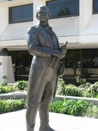 Statue in Greenville