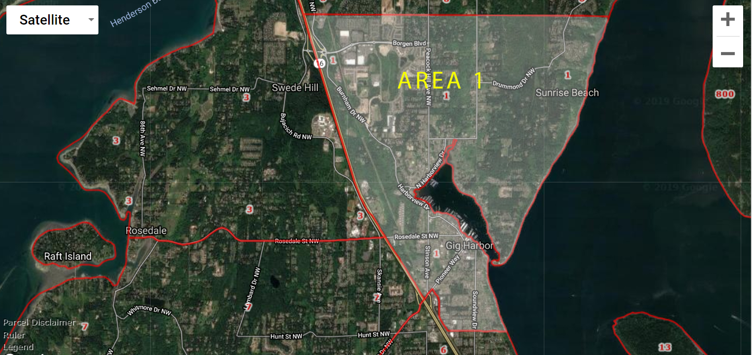 Gig Harbor Real Estate Area 1
