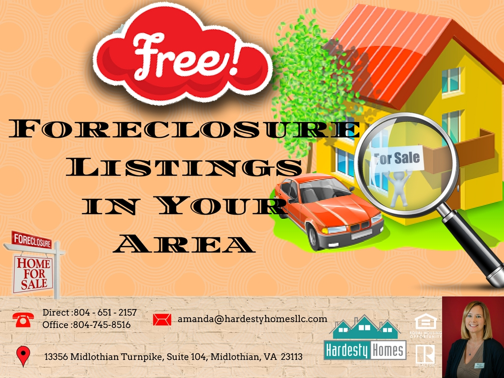 FREE FORECLOSURE LIST FRIDAY! October 20,2017