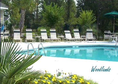 The Woodlands Pool at Barefoot Resort