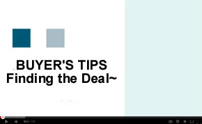 Buyer's Video Tips - Finding the Investment Deal