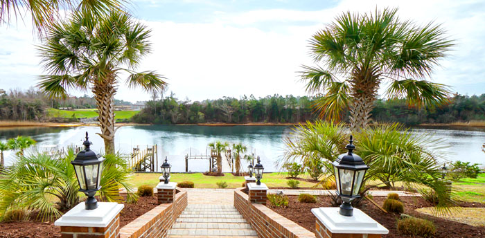 Waterway Views on the Battery in Carolina Forest