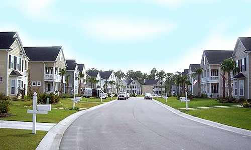 A Street in Bellegrove Preserve Carolina Forest