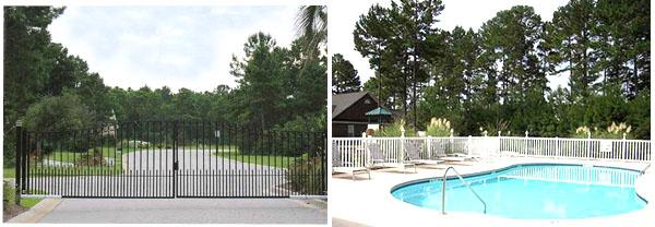 Gated Covington Lake homes