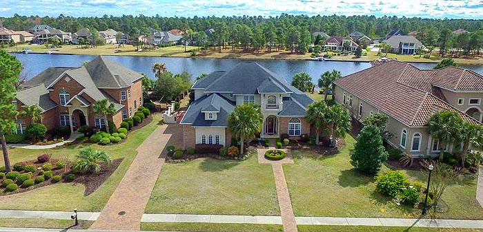 Homes in Plantation Lakes at Carolina Forest