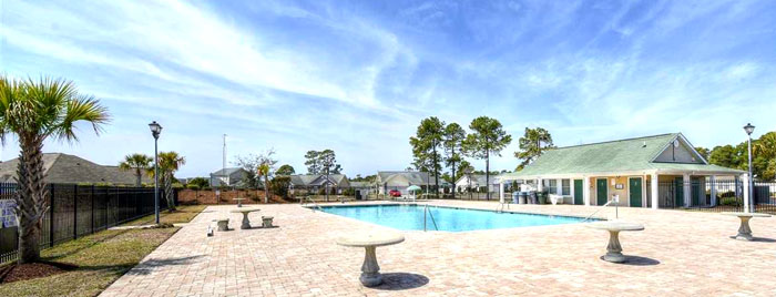 Pool in Walkers Woods, Myrtle Beach