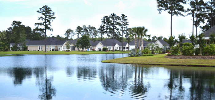 Waterford Plantation Lake in Myrtle Beach