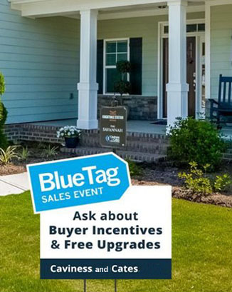 Save on Blue Tag Homes by Caviness and Cates