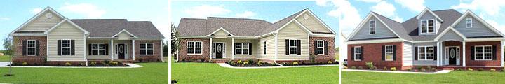 Model Homes in Ridgewood West, Conway SC